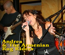 Live Music with ANDREA & THE ARMENIAN RUG RIDER
