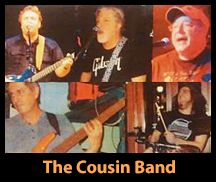 Live Music by THE COUSIN BAND