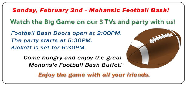 Watch the Superbowl with us.