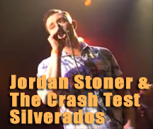Live Music with JORDAN STONER & THE CRASH TEST SILVERADOS